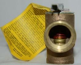 Watts 3/4 Inch 0342691 PSI Pressure Relief Valve Bronze image 2