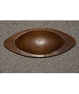 Melanesia Oceanic Art Hand Carved Unique Artist Wood Bowl for Pounding L... - $132.99