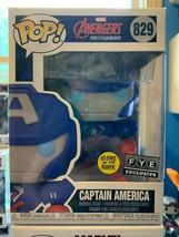 new unopened Funko POP Captain America Marvel Avengers MechStrike Glow 829 - $18.00