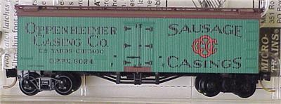 Micro Trains 58040 Oppenheimer 36' Reefer 8024