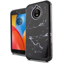 For Motorola Moto E4 PLUS Slim Case Image Metallic Hybrid Hard Phone Cover  - $8.55