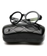 NEW CHANEL 3388 c.888 Black EYEGLASSES GLASSES FRAME 49-20-140 B45mm Italy - $372.23