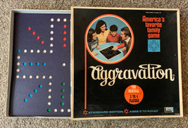Vintage 1970 Aggravation Game Clean Complete Lakeside 8320 - $29.69