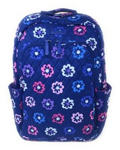 Vera Bradley Laptop Backpack Ellie Flowers - Purple Interiors - NWT - $1... - $79.95