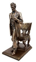 Ebros United States Of America 16th President Abraham Lincoln Standing B... - $49.99