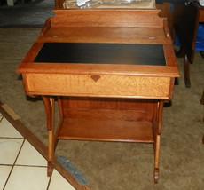 Quartersawn Oak Slant Top Desk - $599.00