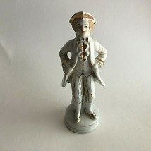 """Vintage Ceramic Figurine Man  Victorian Statutes 6.5"""" Tall Japan - $7.72"""