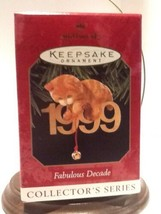 Hallmark Keepsake Ornament - Fabulous Decade, 10th in Series - 1999 - QX... - $4.95