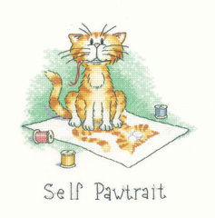 Self pawtrait cat s rule