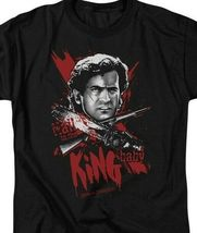 Army Of Darkness King Baby Retro Horror 80s Evil Dead Graphic T-shirt MGM125 image 4
