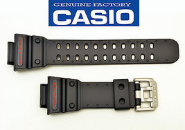 Casio ORIGINAL watch band strap G-Shock BLACK Rubber RESIN GX-56  GXW-56  - $61.65
