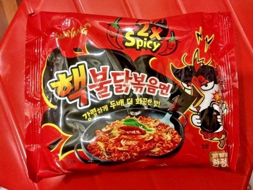 1, 2, 5 packs Samyang 2X Spicy Hot Chicken Korean Fire Ramen Noodle Challenge