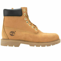 """Timberland Mens 6"""" Waterproof Boot with Padded Collar Size 8.5 Colors Wheat - $135.56"""