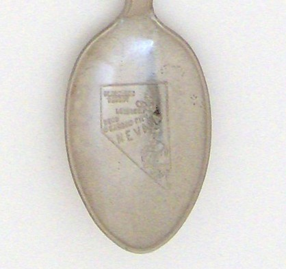 Souvenir Spoon - United States Cities - Reno, NV