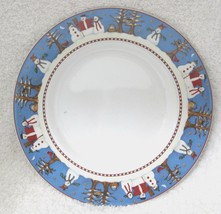 Snowman by Sakura Bread & Butter Plate Great Shape Discontinued 1997 - 2002 61/2 - $14.85