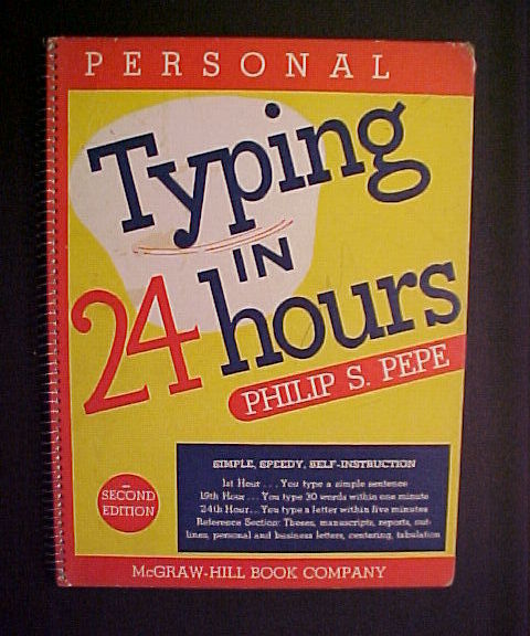 Typing in 24 hours