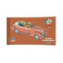 THE NEW DELHI TAXI 1/24 VOITURE TINTIN CARS TINTIN IN TIBET NEW 2019 image 5