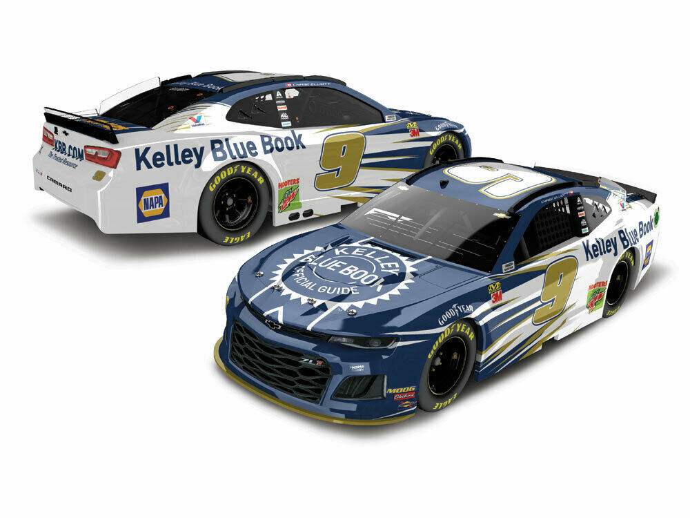 Chase Elliott 2019 #9 Kelley Blue Book ZL1 Camaro 1:64 ARC -