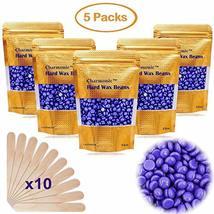 17.5 Oz Hair Wax Beans by Charmonic, Hard Body Wax Beans, Hair Removal Depilator image 10