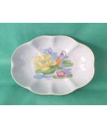 Vintage Seymour Mann porcelain soap dish Water Lily by Eda Mirsky Mann 1... - $8.00