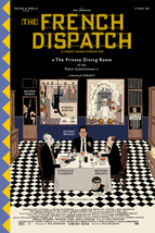 """The French Dispatch Poster Wes Anderson Movie Art Film Print 24x36"""" 27x40"""" - £7.89 GBP+"""