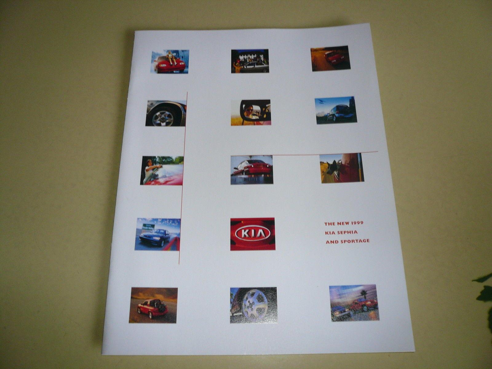 1999 Kia Sephia Sportage Sales Brochure - $7.84