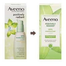 Aveeno Positively Radiant Daily Facial Moisturizer. SPF 30 Sunscreen - $18.77