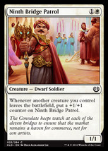 Magic The Gathering-Kaladesh-Ninth Bridge Patrol  - $0.25