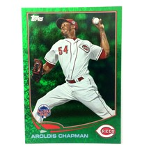 Aroldis Chapman 2013 Topps Update Emerald Green Sparkle Parallel Card #U... - $2.92