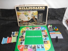 Old Vtg 1973 Billionaire Board Game No. 43 Parker Brothers Complete - $49.49