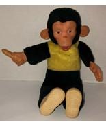 "VTG 16"" MR BIM MONKEY ZIPPY ZIM Stuffed Plush Monkey Banana Rubber Face ... - $187.95"