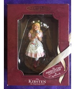 1854 Kirsten With Kittens American Girl Handcrafted Keepsake Ornament H... - $23.95