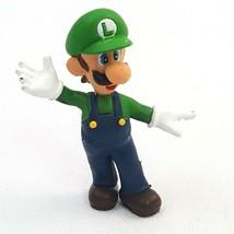 "Nintendo Super Mario Bros Brothers Luigi Toy PVC Action Figure 2"" 2003 - $12.16"