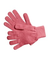 NWT Johnstons of Elgin 100% Cashmere Gloves, Made In Scotland, Old Rose - $29.53