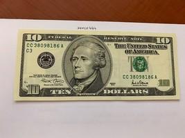 United States Hamilton $10 uncirc. banknote 2001 #7 - $24.95