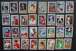 1992 Topps Micro Mini Philadelphia Phillies Team Set of 32 Baseball Cards - $4.99