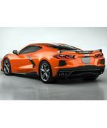 2020 Corvette Stingray Sebring Orange Tintcoat   13x19 inch poster - $14.84