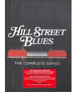 Hill Street Blues the Complete Series (34 Disc Box Set DVD) Brand New - $53.95