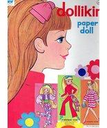 DOLLIKIN paper dolls 1971 cut/Mod-Era/Fashion Doll - $12.95
