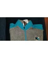 San Jose Sharks NHL Men's Full Zip G-III Track Jacket Black Gray M L XL 2XL - $39.99