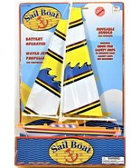 Battery Operated Sail Boat Polyfect Toys Inc Water Jet Propelled No Prop... - $49.49