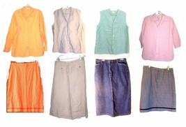 Cherokee Linen Top and Skirt Sets + Linen & Cotton Separates Size Medium - 18 - $18.04+