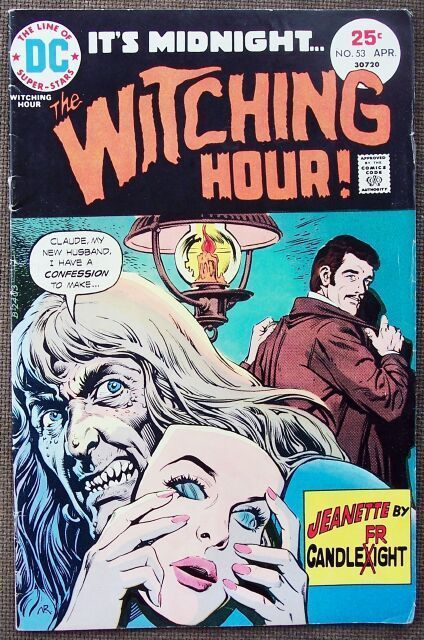 Comic DC The Witching Hour No 53 April 1975