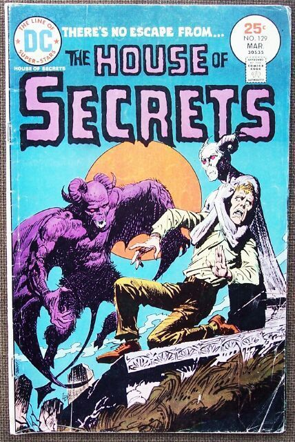 Comic DC The House of Secrets No 129 March 1975