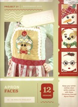 Anita Goodesign Express Apron Faces Embroidery Machine CD (CD ONLY) - $10.39
