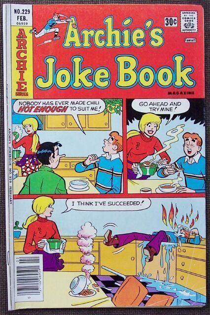 Comic Archie's Joke Book No. 229 Feb. 1977