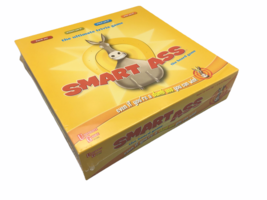 University Games 2009 Smart Ass Trivia Family Friendly Board Party Game - £18.21 GBP