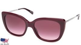 New Coach HC8246 L1040 55098H Solid Oxblood Sunglasses Glasses 55-18-140 B47mm - $89.09