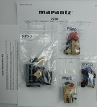 Marantz 2220 Deluxe kit- Wima, Nichicon, on-semi restoration recap Upgrade - $55.98