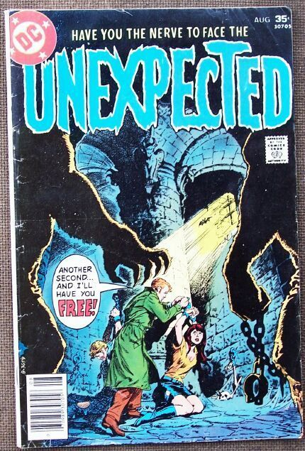 Comic DC Unexpected No 180 August 1977
